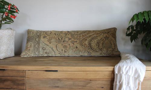Long Lumbar Vintage carpet cover - 35*100cm #36
