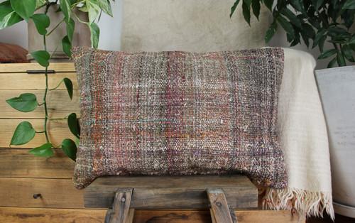 Handwoven kilim cover rectangle (40*60cm) #KR241