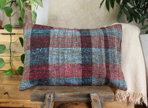 Handwoven kilim cover rectangle (40*60cm) #KR242