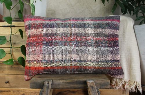 Handwoven kilim cover rectangle (40*60cm) #KR243