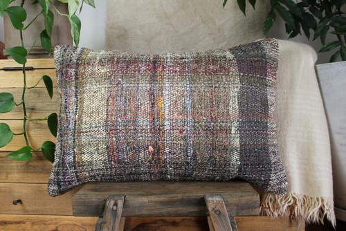 Handwoven kilim cover rectangle (40*60cm) #KR244
