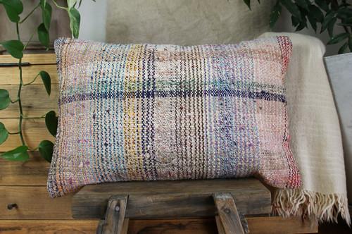 Handwoven kilim cover rectangle (40*60cm) #KR245