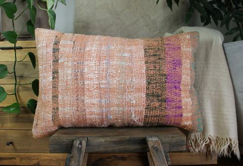 Handwoven kilim cover rectangle (40*60cm) #KR246