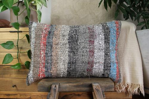 Handwoven kilim cover rectangle (40*60cm) #KR248