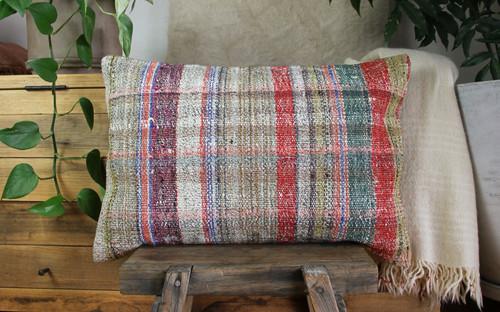 Handwoven kilim cover rectangle (40*60cm) #KR249