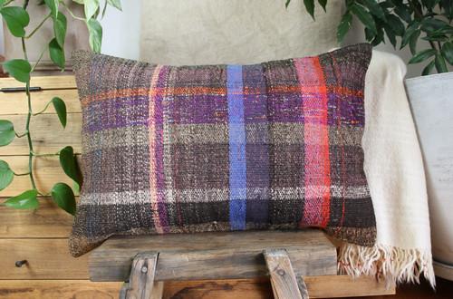 Handwoven kilim cover rectangle (40*60cm) #KR252