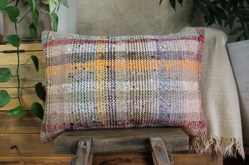 Handwoven kilim cover rectangle (40*60cm) #KR254