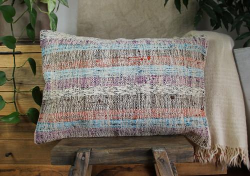 Handwoven kilim cover rectangle (40*60cm) #KR255