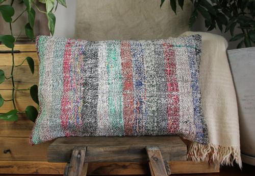 Handwoven kilim cover rectangle (40*60cm) #KR257