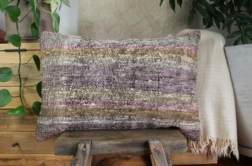 Handwoven kilim cover rectangle (40*60cm) #KR258
