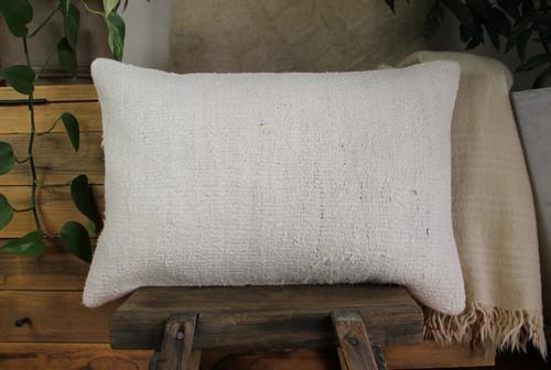 Handwoven kilim cover rectangle (40*60cm) #KR259