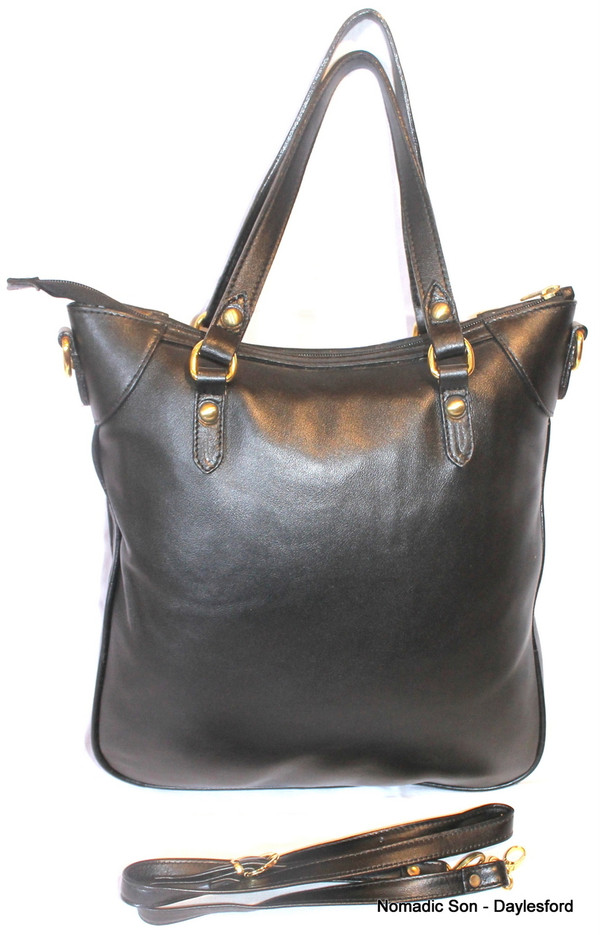 Large Suzani and leather handbag