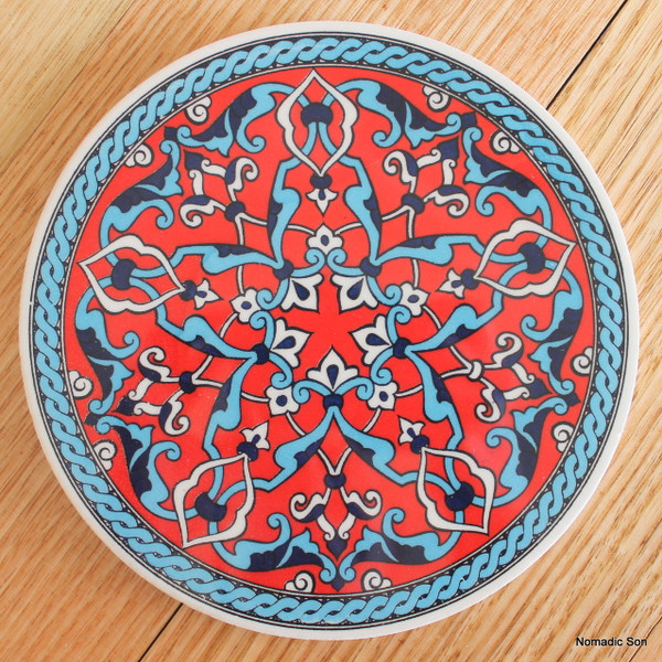 Round Trivet - #1 - Geometric Star (2 colour option) NEW