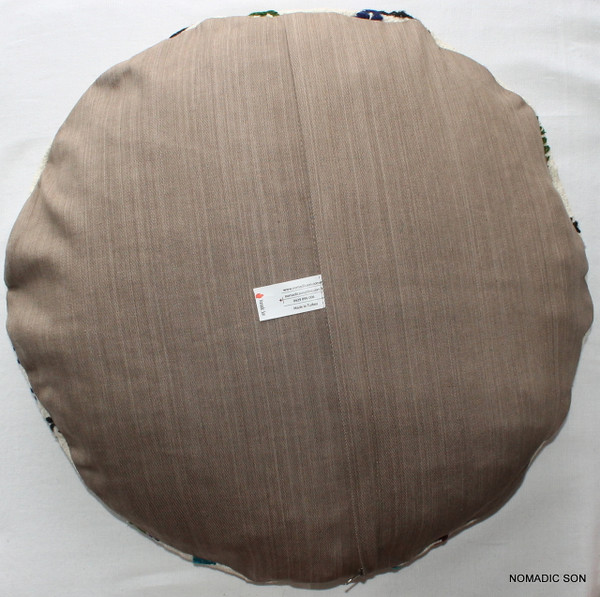 Kilim Cushion Cover Round (50cm) #RL7