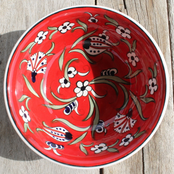 Soloman's Soup Bowl - Hand painted - Food safe