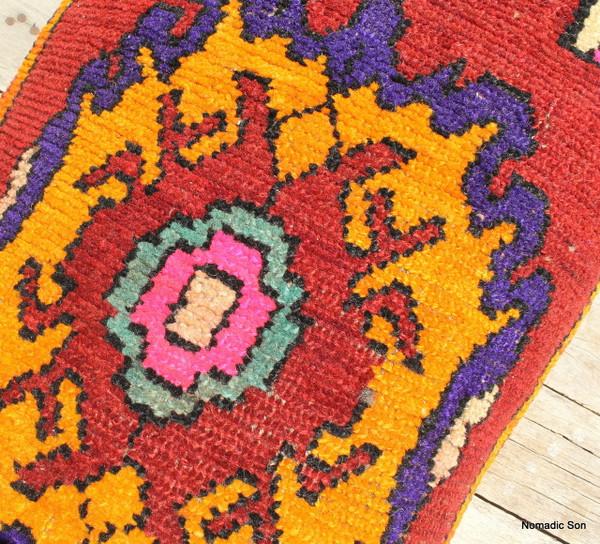 Kars Lumbar carpet cushion (cuval) (#E102) 45*85cm