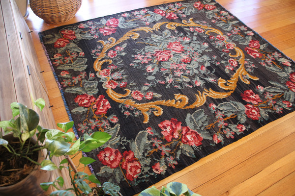 Moldova Vintage Rose Kilim (#A159) 188*209cm