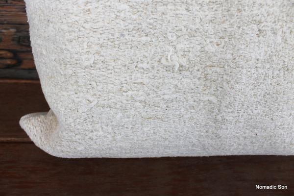 Vintage Hemp kilim cover - medium (50*50cm) - #FF324
