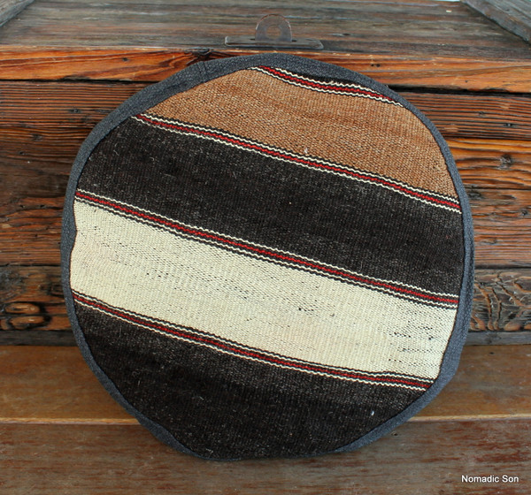Seat Pad / Chair Cushion / Round Gusseted Cover #SC8