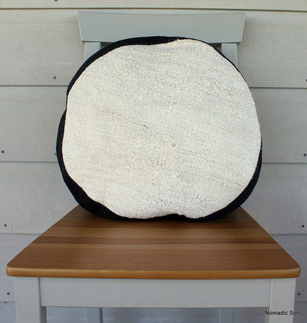 Seat Pad / Chair Cushion / Round Gusseted Cover #SC12