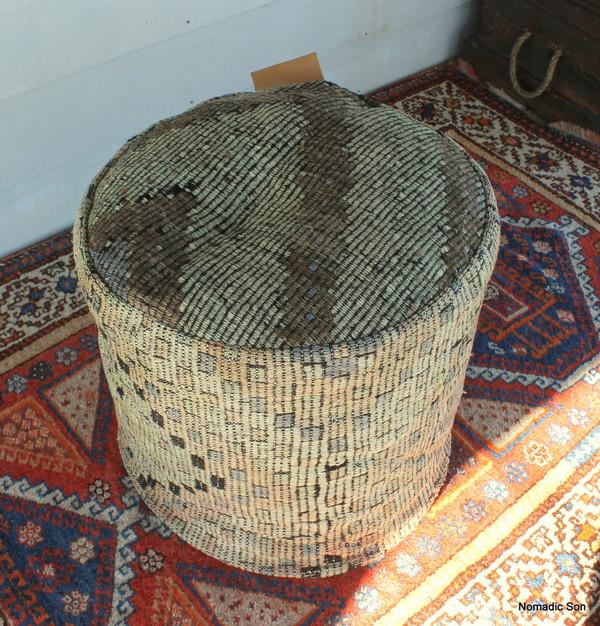 Kilim Ottoman (50*50*50cm) #C5