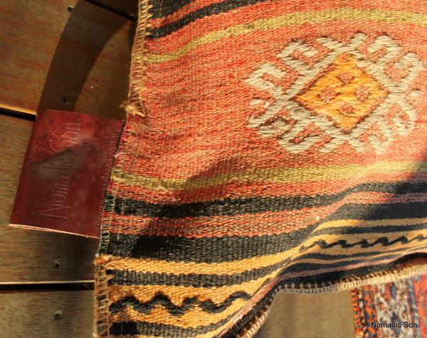 Kilim Bean Bag #12