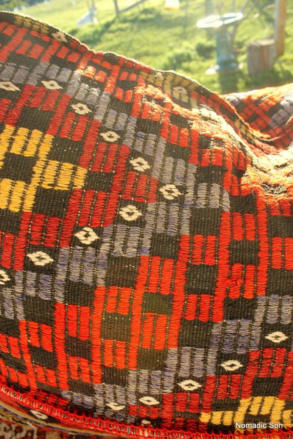 Kilim Bean Bag #13