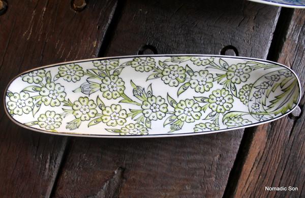 Porcelain Floral Serving Dishes