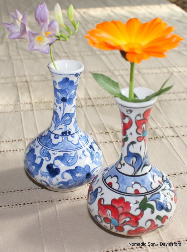 Samur classic 'tear catcher' vase - small