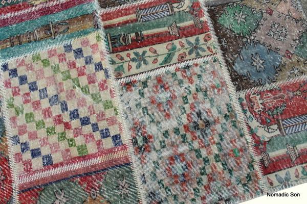 'Istanbul' Carpet Patchwork (#G198) 185*240cm