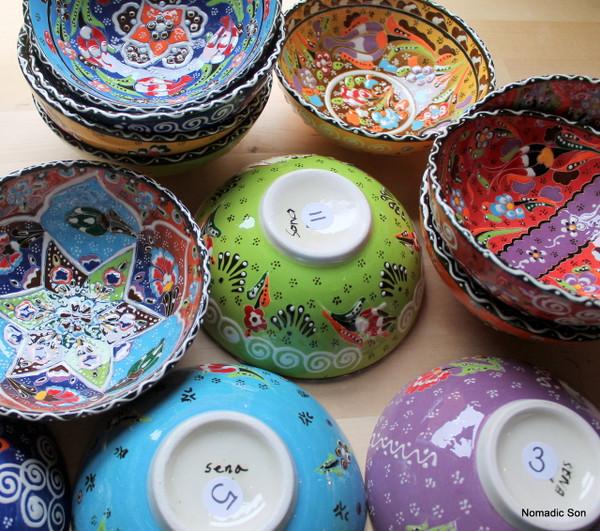 Kabartma Ceramic bowls - 15cm