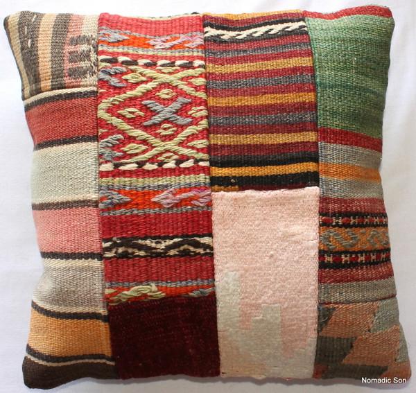 Vintage kilim cover - small #269