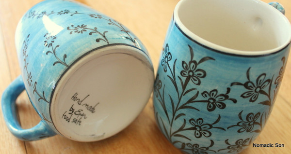 'Mediterranean' ceramic Coffee Cups
