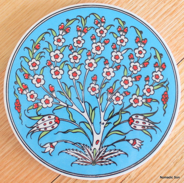 Round Trivet - #25 - Tree of Life (3 colour option)