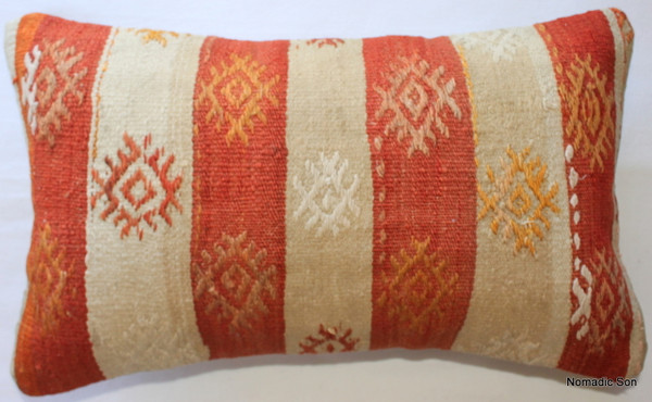 Vintage kilim cover - small rectangle #SR19