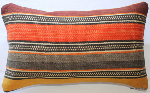 Vintage kilim cover - small rectangle #SR25