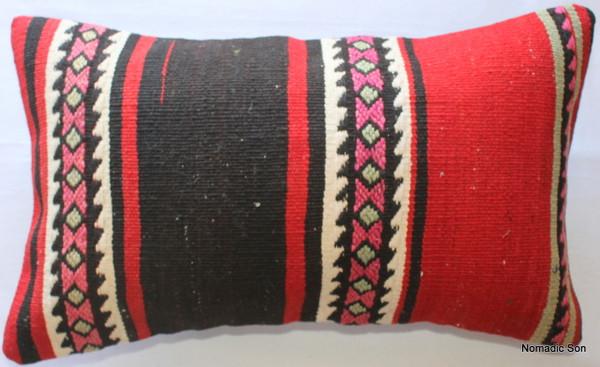 Vintage kilim cover - small rectangle #SR30