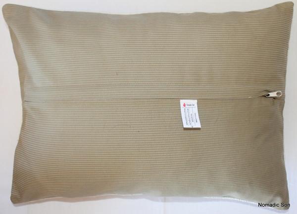 Vintage kilim cover rectangle (35*50cm) #TR1