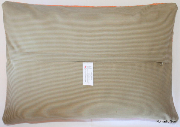 Vintage kilim cover rectangle (35*50cm) #TR4