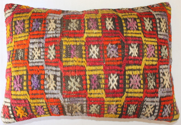 Vintage kilim cover rectangle (35*50cm) #TR32