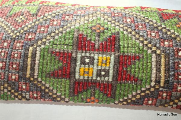 Vintage kilim cover rectangle (40*80cm) #LR32