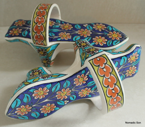 'Sitki' Unesco Collection - Hammam Shoes 22cm
