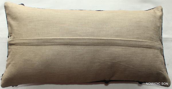 Vintage kilim cover - quarter rectangle (25*50cm) #QR22