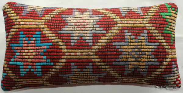 Vintage kilim cover - quarter rectangle (25*50cm) #QR25