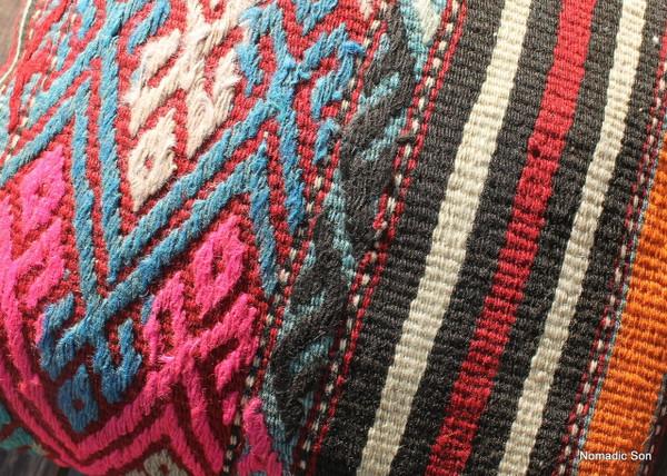 Vintage kilim cover - small (40*40cm) #1128