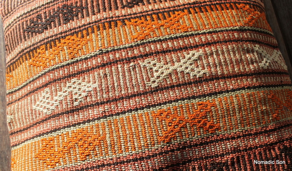 Vintage kilim cover - small (40*40cm) #1129
