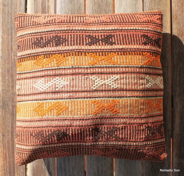 Vintage kilim cover - small (40*40cm) #1129