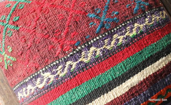 Vintage kilim cover - small (40*40cm) #1130