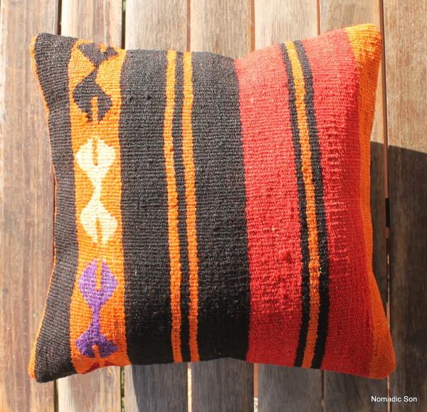 Vintage kilim cover - small (40*40cm) #1132