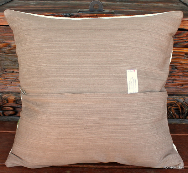 Vintage kilim cover - 45cm #18